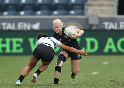 Army Women's Rugby vs Lindenwood - Cup Final 190602