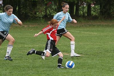 U12 Girls- Soccer United Club vs. PFC Black Club