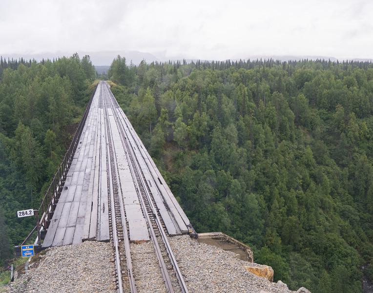 918' Hurricane Gulch Bridge, 296' above Hurricane Creek