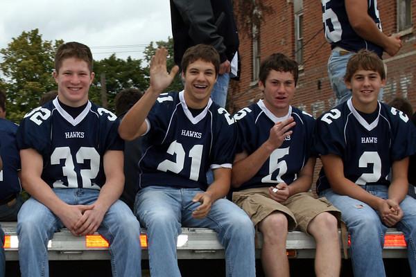 Varsity Football 2009-10