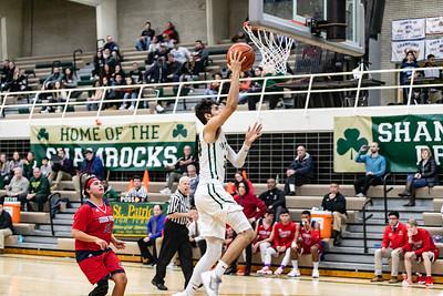 2019-12-20 Basketball Varsity - Pats vs Guerin