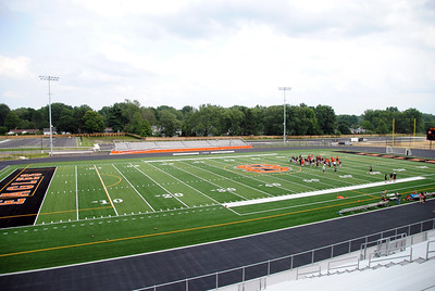 082218 hfb - North Olmsted stadium tour