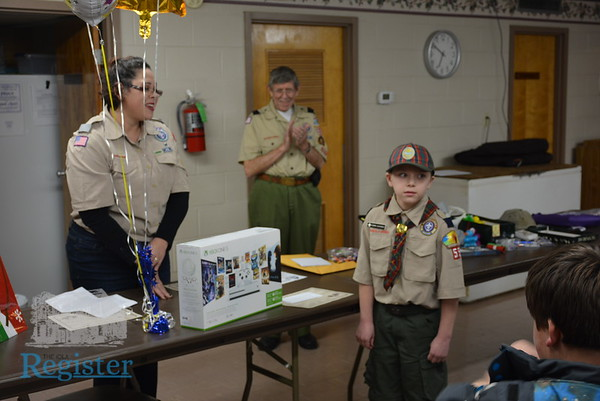 12-6-18 Boy Scouts popcorn sales awards