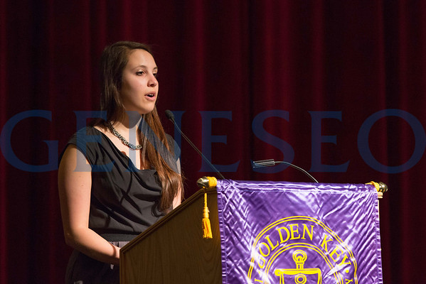Golden Key Honor Society Induction
