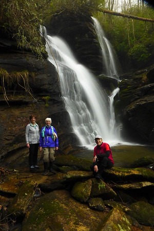 3 waterfalls in Headwaters State Forest