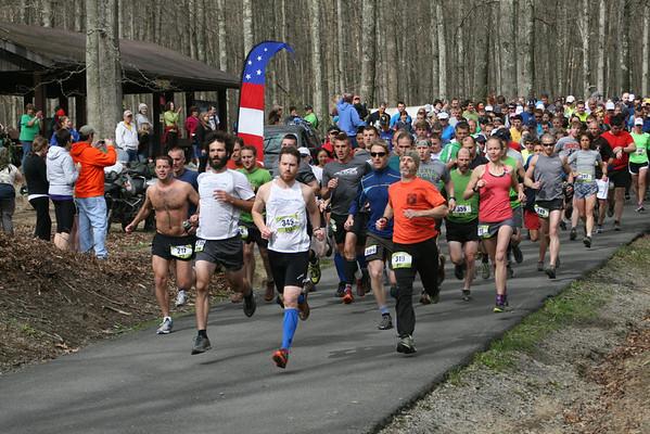 The Gristmill Grinder Trail Half Marathon