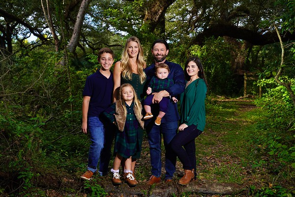 Lauren, Steve & family
