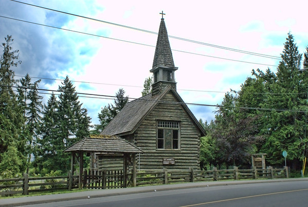 Topaz Adjust Review - Old Wood Church - Final Image