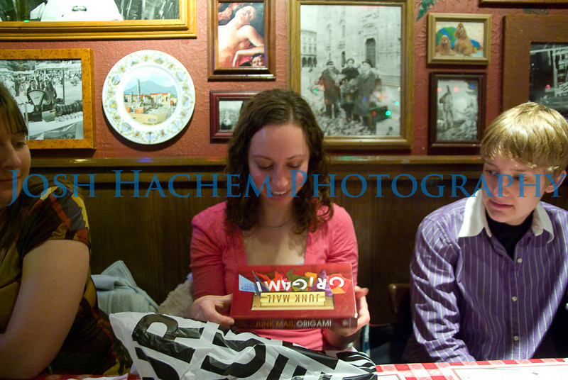 February 13, 2009  C's Birthday Dinner 080