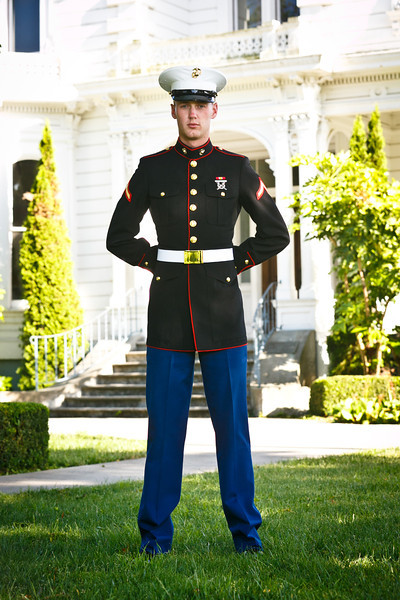 Jacob's Marine Portraits - May 2012