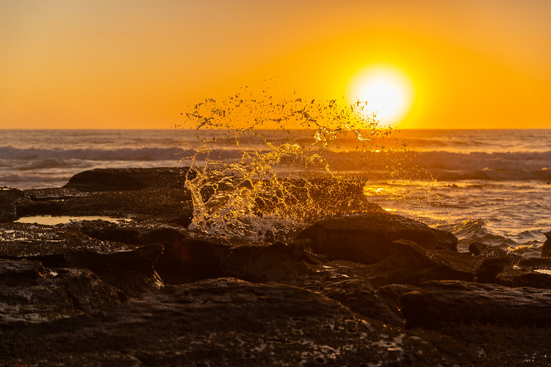 sunrise splash