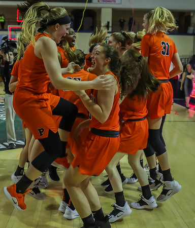 Womens Finals Princeton vs Penn - Celebration and Trophy Photos