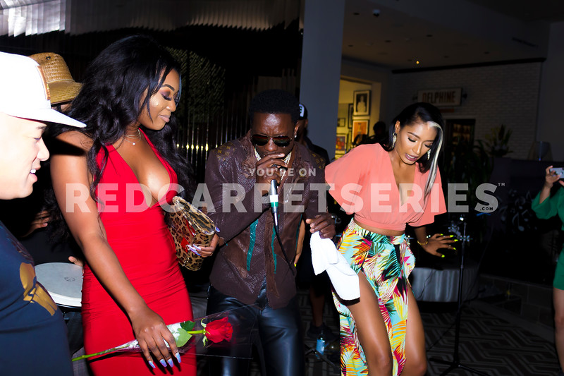 Michael Blackson @ DJ Fredy Muks Afro Beats Nights @ W Hollywood