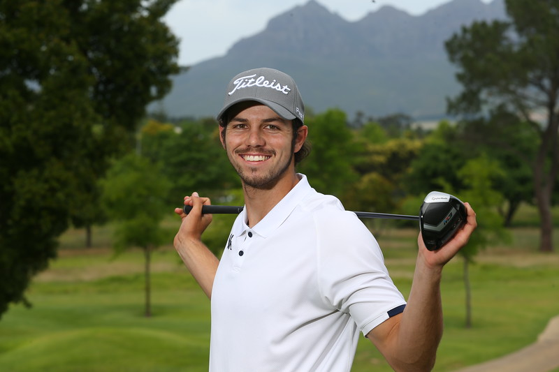 STELLENBOSCH, SOUTH AFRICA - OCTOBER 2: Caylum Boon during the held at Stellenbosch Golf Club on October 2, 2018 in Stellenbosch, South Africa. EDITOR'S NOTE: For free editorial use. Not available for sale. No commercial usage. (Photo by Carl Fourie/Sunshine Tour)