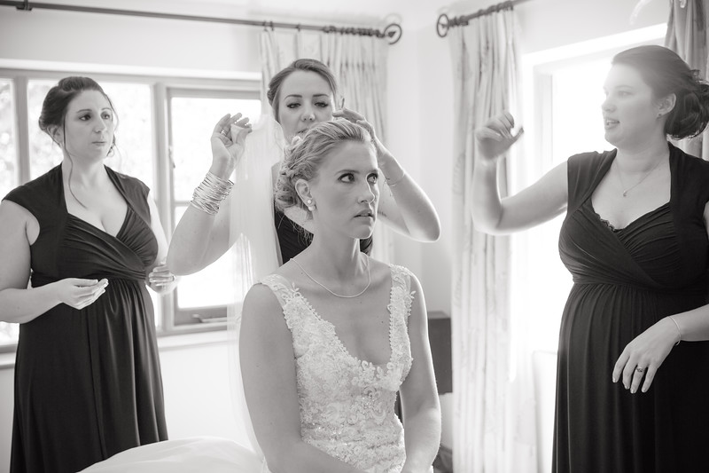 Tam & Giles Wedding - Getting Ready