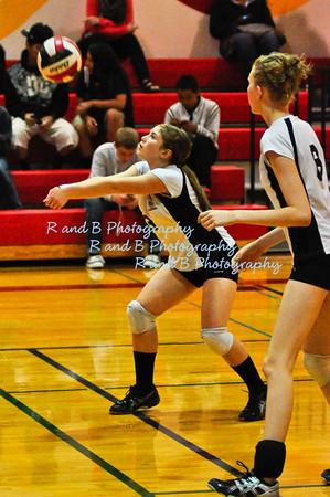 FP JV volleyball vs WHS