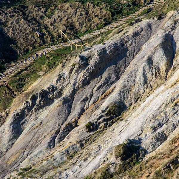 Landslide at Durdle Door
