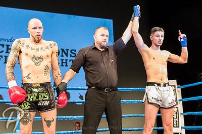 CHAMpions Fight Night: Phillip Stöckli vs. Arbi Mertin