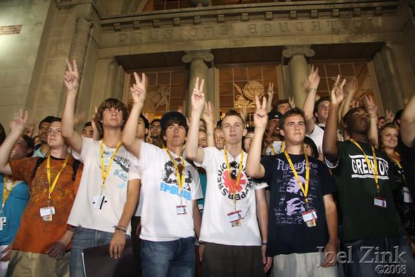 Freshmen Orientations- Summer 2008