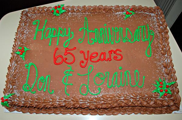 2013 12 27: Brinks' 65th Wedding Anniversary