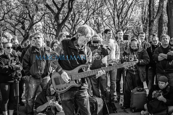 Phil Lesh trio- Jazz & Colors (Central Park- Sat 11/9/13)