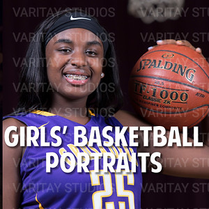 Girls Basketball Portraits