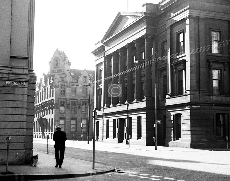 Ingram St, south side east of Hutcheson St.    May 1974