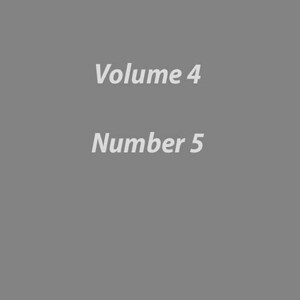 Volume 4 Number 5