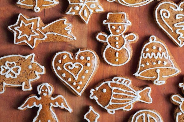 làm bánh ngọt giáng sinh 2