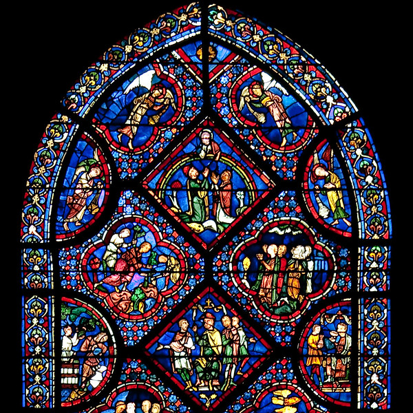 Chartres Cathedral - The Noah Window - The Ark (1 of 1).jpg