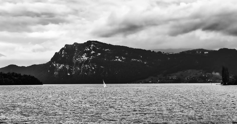 Sailing Lake Lucerne