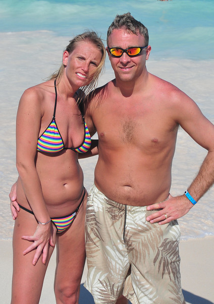 Chel and I at the beach