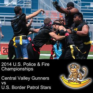 Central Valley Gunners VS U.S. Border Patrol Stars