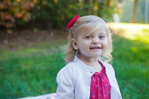 Amelia 2 Year Pics
