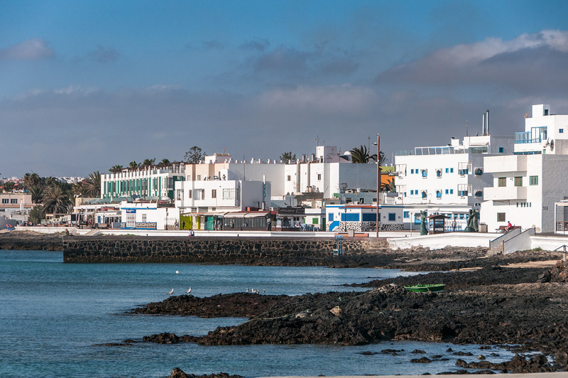 Rocky beach in Corralejo, Fuerteventura
