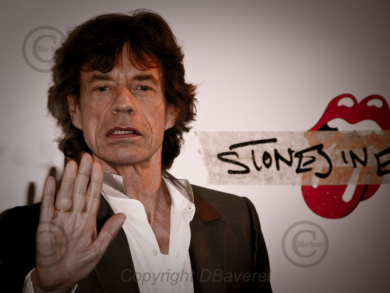 *legende* Photocall Mike Jagger