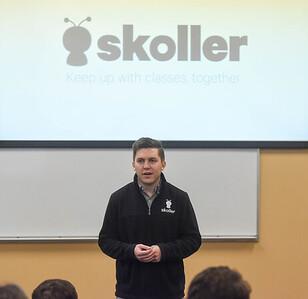 Belmont grad. Carson Ward talks about Skoller