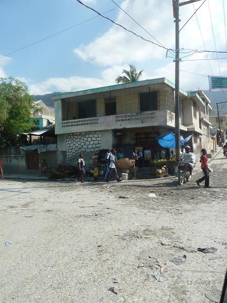 street scene in Port au Prince