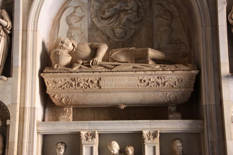A tomb.