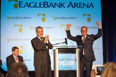 EagleBank Arena Announcement