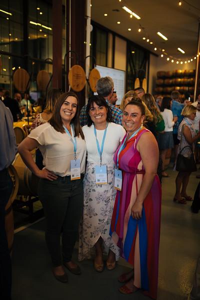 Riana, Alycia and Angelina Mondavi at the 2019 Napa Valley Barrel Auction
