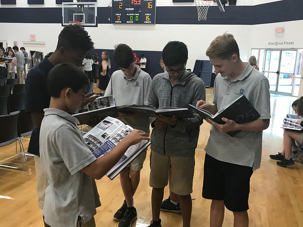 Yearbook Distribution Day 2018