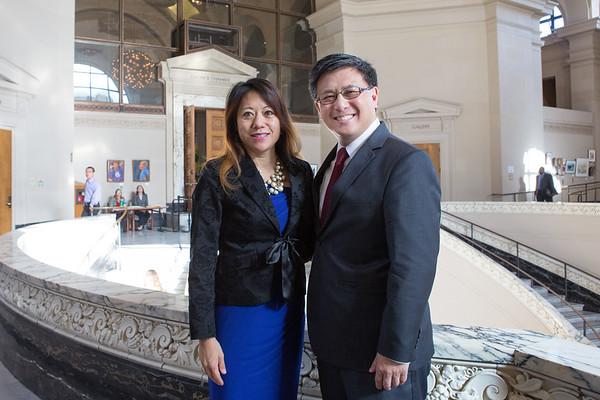 Fiona Ma and  John Chiang