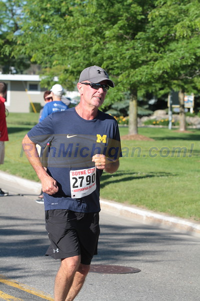 Additional 10K Finishers (After 1:01) - 2017 Boyne City Independence Day Run