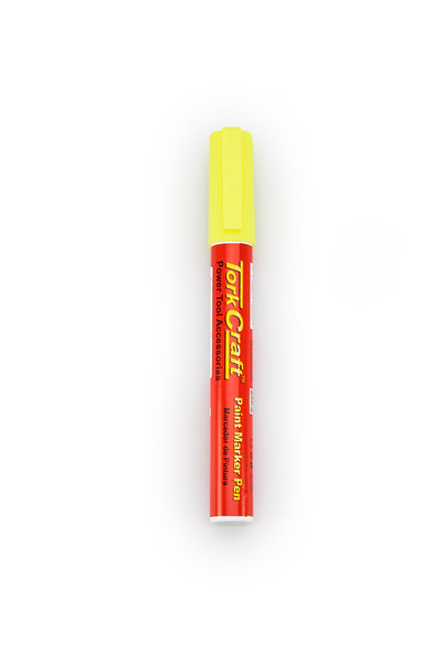 Gelmar Tork Craft Paint Marker Pen Yellow
