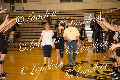 Volleyball Senior Night 9/21/17