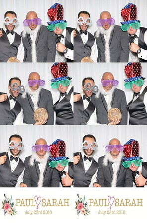 2016-07-23  - Sarah & Paul Brooks Photo Booth