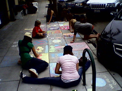 CHALK4PEACE 2008 ART N SOUL, Encinitas, CA