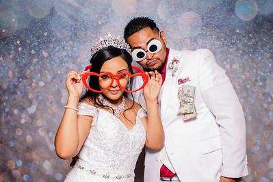 2021.07.24 - Alexis and Lizeth's Wedding Photo Booth, The Pavilian at Mixon Farms, Bradenton, FL