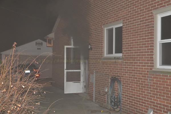 Dearborn  - Wellington street - Basement fire